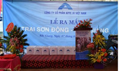AGROUP Việt Nam chính thức ra mắt trại heo giống tiêu chuẩn quốc tế tại Sơn Động, Bắc Giang