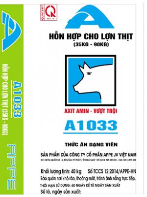 A1033 - HH cho Lợn thịt 35-90kg