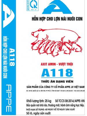 A118 - HH cho lợn nái nuôi con