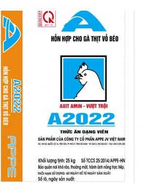 A2022 - HH Gà thịt vỗ béo