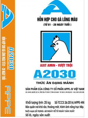 A2030 - HH gà màu 1-35 ngày