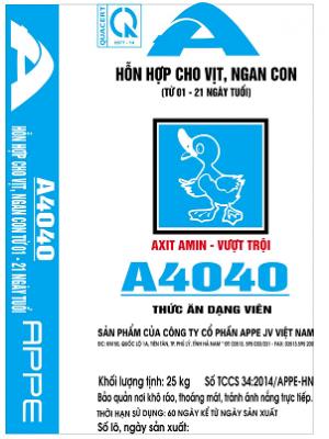 A4040 - HH Vịt Ngan con 1-21 ngày